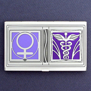 Women's Health Business Card Cases