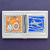 Air Traffic Controller Business Card Case