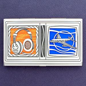 Air Traffic Controller Business Card Case
