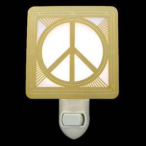 Peace Sign Night Light