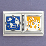 Global Warming Business Card Case