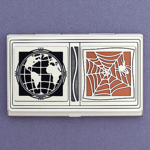 World Wide Web Customized Business Card Case