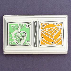 Apple Pie Business Card Case