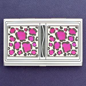 Leopard Animal Print Business Card Holder