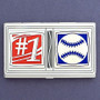 #1 Baseball Business Card Case