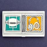 Football Head Coach Business Card Case