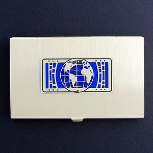 World or Earth Business Card Holder