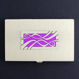 Ribbon Business Card Holder