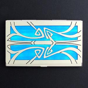 Art Nouveau Decorative Business Card Holder