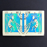 Kokopelli Decorative Business Cards Case