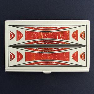 Milano Modern Decorative Business Card Holder Case
