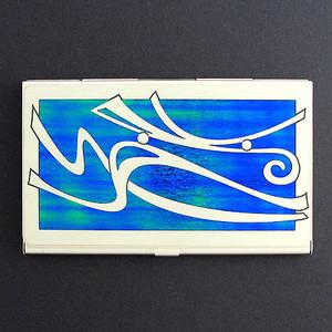 Windy Decorative Business Card Holder Case