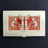 Kokopelli Business Card Holder