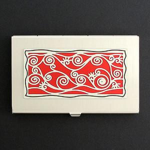 Vines Decorative Business Card Holder