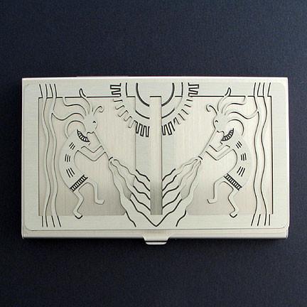Kokopelli Pocket Business Card Case Kyle Design