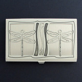 Dragonflies Business Card Holder