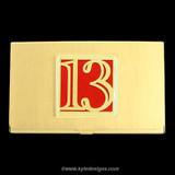 Thirteen Business Card Case