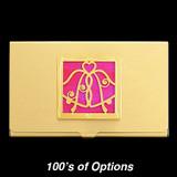 Wedding Bells Business Card Holders