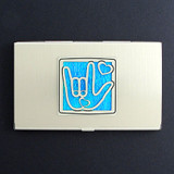Sign Language Business Card Holders