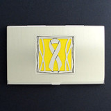 Yellow Ribbon Business Card Holders