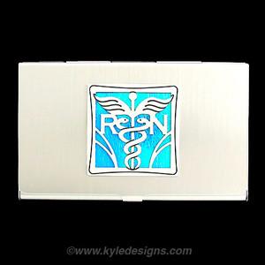 Nurse business card case for rn kyle design nurse business card case for rn colourmoves