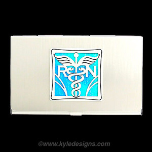 Nurse Business Card Case for RN