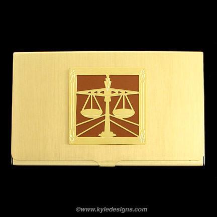Lawyer Business Card Holder Cases Kyle Design