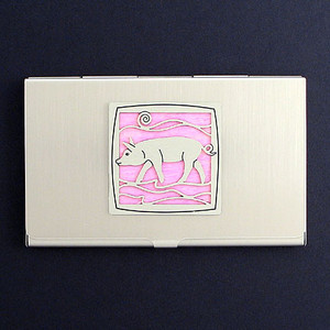 Pig Business Card Holders