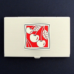 Cherry Business Card Holders