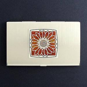 Sunflower Business Card Holders