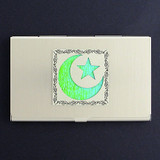 Islamic Star Business Card Holders