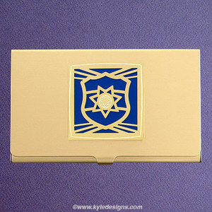 Police officer business card holders kyle design police officer business card holders colourmoves