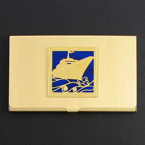 Cruise Ship Business Card Holders