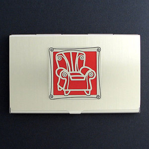 Chair Business Card Holders