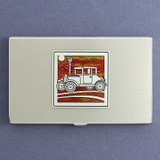 Antique Car Business Card Holders