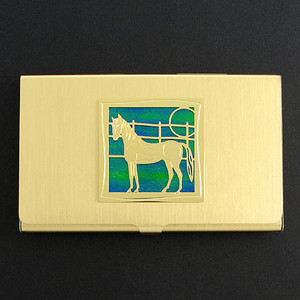 Horse Business Card Holders