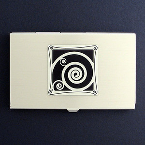 Spiral Business Card Holders