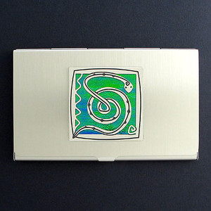 Snake Business Card Holder