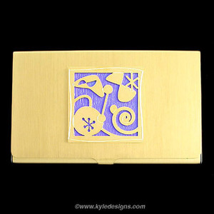 Retro Modern Business Card Holders