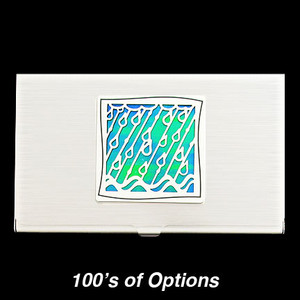 Rain Business Card Holders