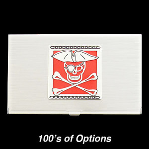 Pirate Business Card Holders