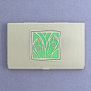 Feet Business Card Holders