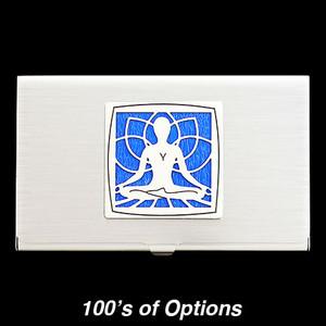 Yoga Business Card Holders
