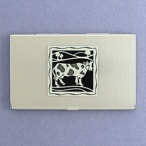 Cow Business Card Holders