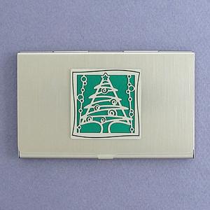 Christmas Tree Business Card Holders