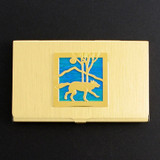 Wolf Business Card Holders