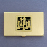 Chess Business Card Holders