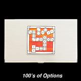 Dominoes Business Card Holders