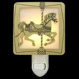Carousel Horse Night Light