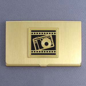 Camera Business Card Holders